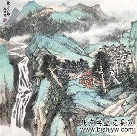 程振国 山水